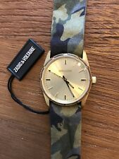 ZVF204 Gold/Green Multicolor Cloth Bracelet Watch by Zadig & Voltaire for Women