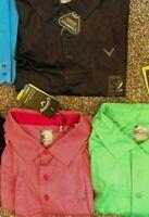 NWT Big and tall Callaway stretch Shirt Sun 50 SPF Opti-dri polo Polyester Golf