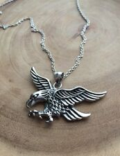 Eagle necklace, Native american jewelry, Viking necklace, bird jewelry
