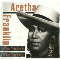Aretha Franklin LP Vinyl What You See Is Sweat / Arista Sealed