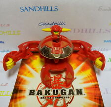 Bakugan Primo Vulcan Red Pyrus Special Attack 640G & cards