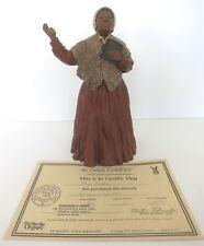 "All God'S Children 10"" Sojourner Truth Figurine W/ Coa & Box"