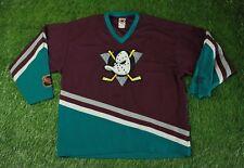 Anaheim Mighty Ducks # 22 Usa Ice Hockey Shirt Jersey Campri Teamline Original