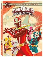 Power Rangers Ninja Steel Season 1 2 Series One Two First Second New DVD