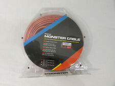 NEW Monster Cable High Performance Speaker Cable 100210-001-pair 10ft. Each