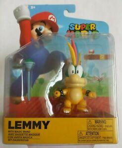 "Super Mario World Of Nintendo Jakks 4""  Lemmy Figure"