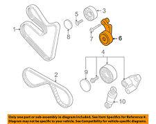 BMW OEM 00-03 Z8 5.0L-V8-Belt Tensioner Assembly 11281407972