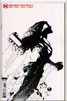 DARK NIGHTS: DEATH METAL #3 (1:100 B&W Greg Capullo Incentive Variant) Comic NM