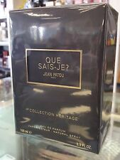 QUE SAIS-JE? BY JEAN PATOU PARIS (COLLECTION HERITAGE) 100 ML  EDP SPRAY