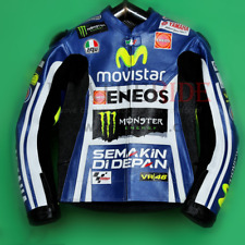 VR46 cuir racing jacket Valentino Rossi Haute Qualité Racing Jacket Toutes Tailles