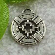 Free Ship 68 pcs tibet silver nice charms 25x22mm #1510