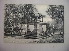 VINTAGE POSTCARD OF THE OLD GUN AT OLD FORT PARK IN FORT WAYNE, INDIANA UDB 1907