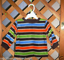 JUMPING BEANS SWEATER~Pullover~Fleece~Striped~Infant Boys 18 Month~NWT~FREE SHIP
