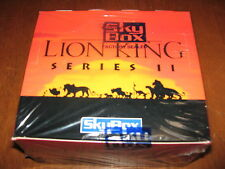 ✦Skybox Lion King Series II Factory Sealed Box ✦