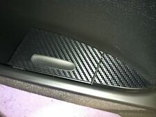 955 957 Carbon Fiber Finish Rear Door Ashtray Covers left and right