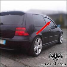 Déflecteurs de vent pluie air teintées VW Golf IV mk4 1997-2003 3 portes 3p