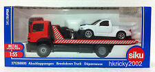 Siku Super 2712 88800 1:55 Mercedes Benz Recovery Tow Breakdown Truck Wrecker