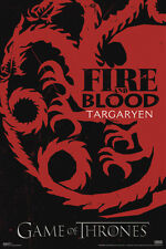 Game of Thrones Fire and Blood Targaryen Stark's Execution Divided loyalty New!