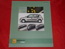 """Renault Clio """"campus"""" colección folleto de 2004"""