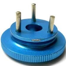RC Nitro Engine 3 Pin Shoe Flywheel Aluminium Blue 1/8