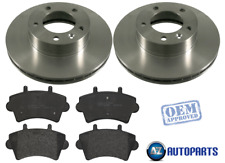 For Renault - Master II 2000-On 2.5 DCI Front Vented Brake Discs & Pads