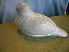 2000 Signed Green Isabel Bloom Dove With Twig