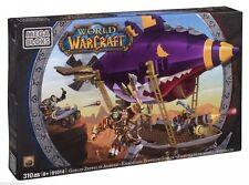 Mega Bloks World of Warcraft – Goblin Zeppelin Ambush 91014 – 310 Pcs New