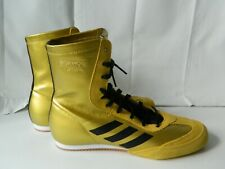 Adidas Box Hog x Special Gold and Black Boxing Shoes Size 8