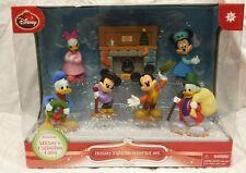 NIB Disney's Mickey Christmas Carol Holiday Figurine Set