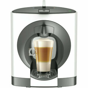 Breville Nescafe Dolce Gusto Oblo Capsule Coffee Tea Cold Machine Maker -White
