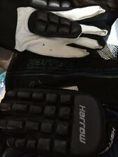 Harrow Double Down Field Hockey Gloves with Carrying Bag, NWOT, Large