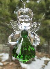 u CELTIC ANGEL of good luck health happiness CRYSTAL EXPRESSIONS ORNAMENT