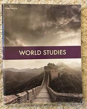 BJU Bob Jones 7th grade WORLD STUDIES 7 Student Text Textbook History 4th Ed