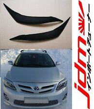 For Toyota Corolla 150 Eyelids Eyebrows Headlights Set 2011-2013