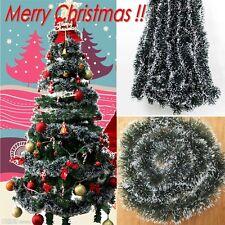 Xmas Tree Ornaments Christmas Green Ribbon Decoration Home Party Holiday Decor
