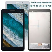 For Huawei MediaPad T1 7.0 T1-701U T1-701W LCD Display Touch Screen Assembly AAA