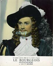 *Georges Descrières Le Bourgeois Gentilhomme photo cartoline vintage