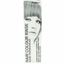 Hair Dye Semi Permanent Stargazer Silver LOOK Toner X 4 Tint Brush