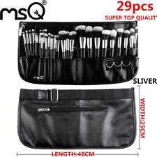 29Pcs Professional Makeup Brush Sets Cosmetic Eyebrow Make up Brush Kit Bag MSQ