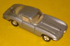 7e515ebaa9bd4e 1963 Chevrolet Corvette Silver Hardtop Diecast Model 1 43 Scale! Nice See!