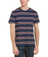 Levi's Men's Blue and Red Striped Classic T-Shirt