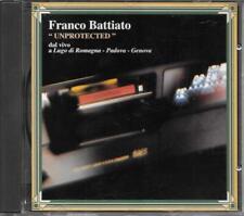 """FRANCO BATTIATO - RARO CD FUORI CATALOGO """" UNPROTECTED """""""