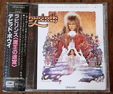 David Bowie OST Labyrinth  Japan CD w/obi CP32-5155