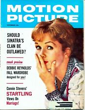 """MOTION PICTURE""  (DEBBIE REYNOLDS)  ~ NOVEMBER 1961 ~  *** VINTAGE ISSUE ***"