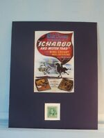"Walt Disney - ""Ichabod Crane"" honored by the Washington Irving stamp"