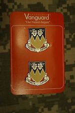 NEW US Army 13th Support Battalion Vanguard Crest 2ea DUI Military Insignia