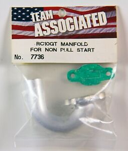 Non-Pull Start Manifold for vintage Team Associated RC10GT - 7736