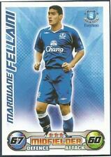 TOPPS MATCH ATTAX 2008-09-EVERTON & BELGIUM-MAROUANE FELLAINI