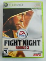 Fight Night Round 3 (Microsoft Xbox 360, 2006) Tested - FREE SHIPPING