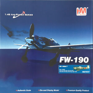 HOBBYMASTER 1/48 HA7417 FW-190A-7 'HEINZ BAR' *MINT IN BOX*